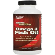Champion Nutrition: Wellness Omega 3 Fish Oil Champion Nutrition, Omega 3 Fish Oil, Health And Nutrition, Wellness, Sports, Food, Hs Sports, Essen, Meals