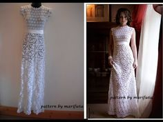 HOW TO CROCHET WEDDING DRESS MOTIF FREE PATTERN TUTORIAL, My Crafts and DIY Projects