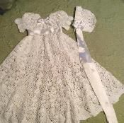 Heirloom Vintage Style Christening Gown  - via @Craftsy