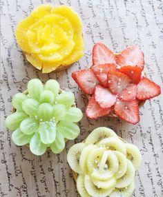 Bánh tart nở hoa rực rỡ làm ai cũng thèm