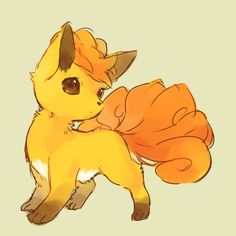 Pokémon Art Museum (Shiny Vulpix by ひでこ1日目東ノ19a)