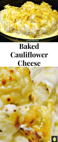 Simply put it in the oven when you're ready! Please enjoy (Baking Cauliflower Cheese Sauce) Side Dish Recipes, Vegetable Recipes, Low Carb Recipes, Vegetarian Recipes, Cooking Recipes, Healthy Recipes, Vegetarian Chili, Crockpot Recipes, Dinner Recipes