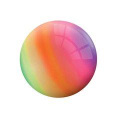 Un ballon aux couleurs de l'arc-en-ciel pour jouer à volonté.
