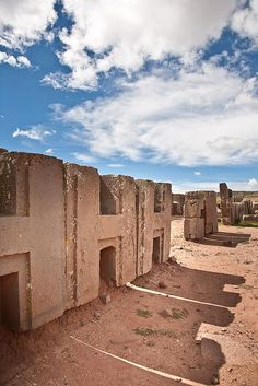 Bolivia: Puma Punku near Tiahuanaco. Ancient ruins pre-dating the Inca. Ancient Aliens, Ancient History, European History, American History, Ancient Mysteries, Ancient Artifacts, Puma Punku, Bolivia, Ancient Astronaut Theory