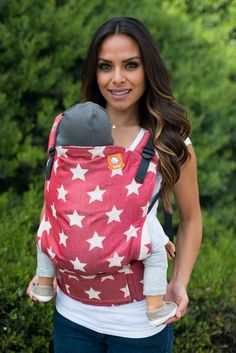 WANT SO BAD! Wrap Conversion Full Standard WC Carrier - Glow Mars - Baby Tula
