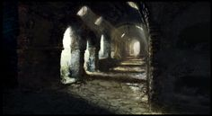 exit from catacombs, Martin Sabran