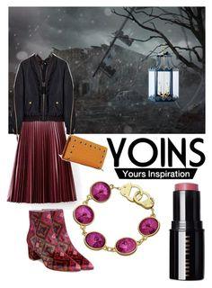 Yoins by serjenblair on Polyvore featuring polyvore moda style B Brian Atwood Eklexic Bobbi Brown Cosmetics fashion clothing yoins yoinscollection