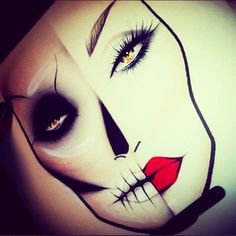 makeup artist tattoo....something like this only exaggerated by like 3x would be really cool
