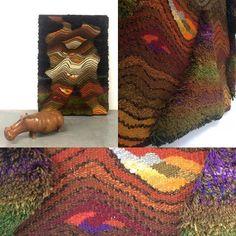 Bald auf www.19west.de: Ein Textilkunstwerk aus den 1970er Jahren von K-H Käppel. #19west #seventies #spaceage #modern #modernist #midcenturymodern #vintage #retro #design #textile #textileart #textilkunst #art #tisca #khkaeppel #interior #interiordesign #design #designinspiration
