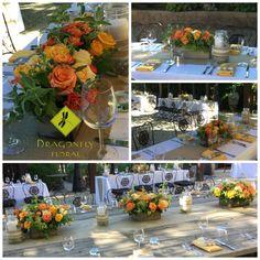 #dragonflyfloral #barndivawedding #juneblooms June Events, Wedding Events, Table Decorations, Floral, Home Decor, Decoration Home, Room Decor, Flowers, Home Interior Design