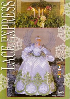 Lace Express 2005-03 – Maggi Rivera – Picasa tīmekļa albumi Crochet Chart, Filet Crochet, Types Of Lace, Bobbin Lace Patterns, Lacemaking, Crochet Magazine, Needle Lace, Ribbon Work, Hobbies And Crafts