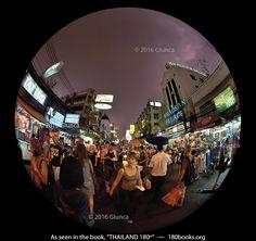 "Image of Khao San Road in our blog; ""12 Landmarks of Bangkok, Thailand (Part II)""."