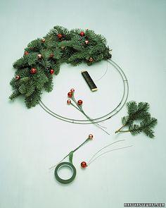 Making Wire Wreaths