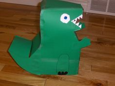 Dinosaur 2010. Valentine's box my son and I made. We named it (his name)asaurous Rex. -ShelliS