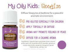 MOK_SleepyIze_LoveItShareIt Essential Oils For Babies, Calming Essential Oils, Essential Oil Diffuser Blends, Young Living Essential Oils, Young Living Oils, Young Living Baby, Yl Oils, Diffuser Recipes, Au Natural