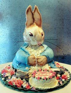 peter rabbit cake! yum