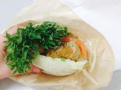 グリーングリーティングズ - 美味しい豆腐の唐揚げが入ったスタンダードサンドイッチ【チケットレストラン 食事券】