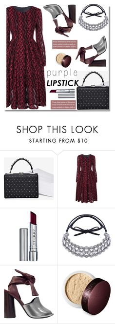 """""""Purple lipstick"""" by fshionme ❤ liked on Polyvore featuring Nasty Gal, By Terry, 3.1 Phillip Lim, Laura Mercier and purplelipstick"""