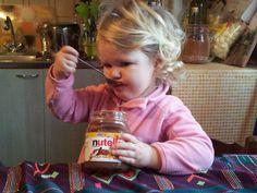 Baby nutella