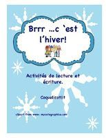Ressources gratuites sur le thème de l'hiver Core French, French Class, French Lessons, Petite Section, French Poems, French Language Learning, Language Arts, French Resources, Les Themes