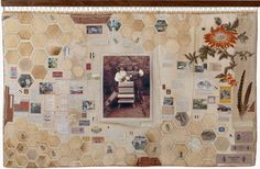 By Natasha Kerr Creative Textiles, Contemporary Quilts, Bee Theme, Gcse Art, Textile Artists, Surface Pattern Design, Fabric Art, Art Inspo, Original Artwork