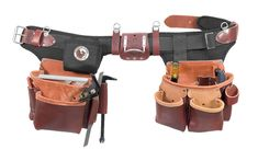 Leather Tool Belt, Leather Tooling, Leather Bags, Carpenter Tool Bags, Best Tool Belt, Tool Belt Suspenders, Occidental Leather, Classic Leather, Boho Style