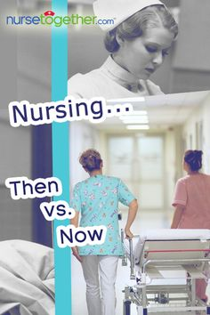 What was #nursing like, 20 years ago?