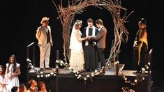 Blood Wedding was a visual feast, also thanks tothe clever set designed by Pierre Portelli.
