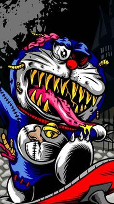doraemon wallpaper by astrosticker - 13 - Free on ZEDGE™ Zombie Wallpaper, Graffiti Wallpaper Iphone, Crazy Wallpaper, Wallpaper Keren, Minion Wallpaper, Hd Wallpaper, Dope Wallpapers, Cute Cartoon Wallpapers, Doremon Cartoon