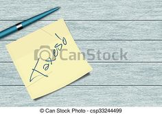 Stock Photo - taxes sticky note and pen lying on desk - stock image, images, royalty free photo, stock photos, stock photograph, stock photographs, picture, pictures, graphic, graphics