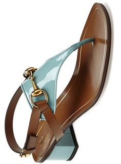 Gucci Alyssa Patent and Leather Sandal ♥✤ | Keep the Glamour | BeStayBeautiful