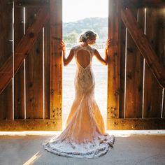 dress shot, photo by David Pascolla http://ruffledblog.com/santa-margarita-ranch-wedding #weddingdress #weddinggown #bridal