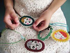 DIY Pendant foam for the little girls !!!