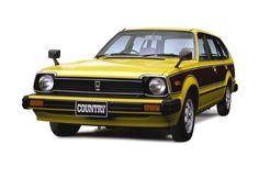 シビック カントリー(1980.01)・Hondaクルマ図鑑 | 歴代Honda車 人気投票 | Honda 四輪販売50周年 記念サイト | Honda