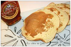 Et dire que je n'avais jamais fait de pancakes !!!! c'est dingue ça surtout que pour Noël on m'a offert un coffret pancakes et blinis avec la mini-poêle qui va bien Source : les recettes légères de Chrissy Pour 12 pancakes 2PP / pancakes * 2 oeufs * 150ml...