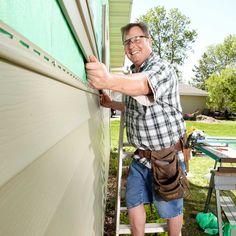 Vinyl Siding Repair, Vinyl Siding Installation, Siding Contractors, Sunroom Windows, Roof Flashing, Diy Home Repair, Home Repairs, Cabin Plans, Kit Homes