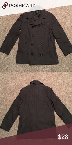 Men's Gap wool coat Men's Gap wool coat size small. Excellent condition. Timeless style goes with everything. GAP Jackets & Coats Pea Coats