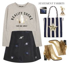 """""""Reality Sucks"""" by cara-mia-mon-cher ❤ liked on Polyvore featuring Lulu and Co., Christian Louboutin, Circus by Sam Edelman, Gucci and Burberry"""