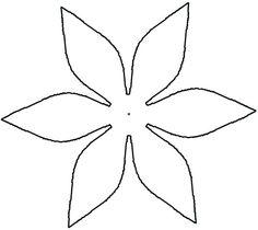 Large Daisy Petal Template Printable Flower Daisy 8 Petal