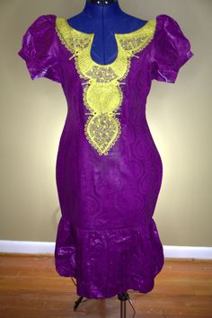 Embroidered Bazin with Balloon  Price:100  www.JacquelineAyoDavies.com  #Bazin #africana