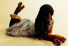 Jenny: tiger dress final photo shoot