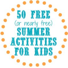 Need free or cheap fun for the kids this summer? We have an amazing resource with over 50 places to visit, things to do, and links to even MORE! CentsibleLife.com