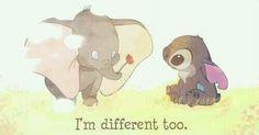 i'm diferent too