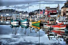 Le Port de Paimpol, Côtes-d'Armor (France) - Crédit Photo : Gilles Westrich
