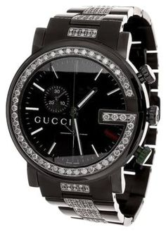 Gucci Ya101331 Watch Black Pvd Full Diamond 101 G Mens Custom Real Mm Ct. Get the lowest price on Gucci Ya101331 Watch Black Pvd Full Diamond 101 G Mens Custom Real Mm Ct and other fabulous designer clothing and accessories! Shop Tradesy now
