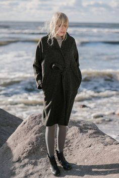 Woolen Coat Motumo 16FW5 by MotumoLinen on Etsy