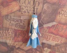 Professor Dumbledore Clothespin Doll Ornament