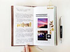 Traveler's Notebook / art journal inspiration