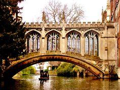 Bridge of Sighs--Cambridge  photo by Gaurav Pradhan