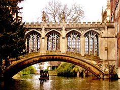 Bridge of Sighs - Cambridge, England ~ Photo by Gaurav Pradhan
